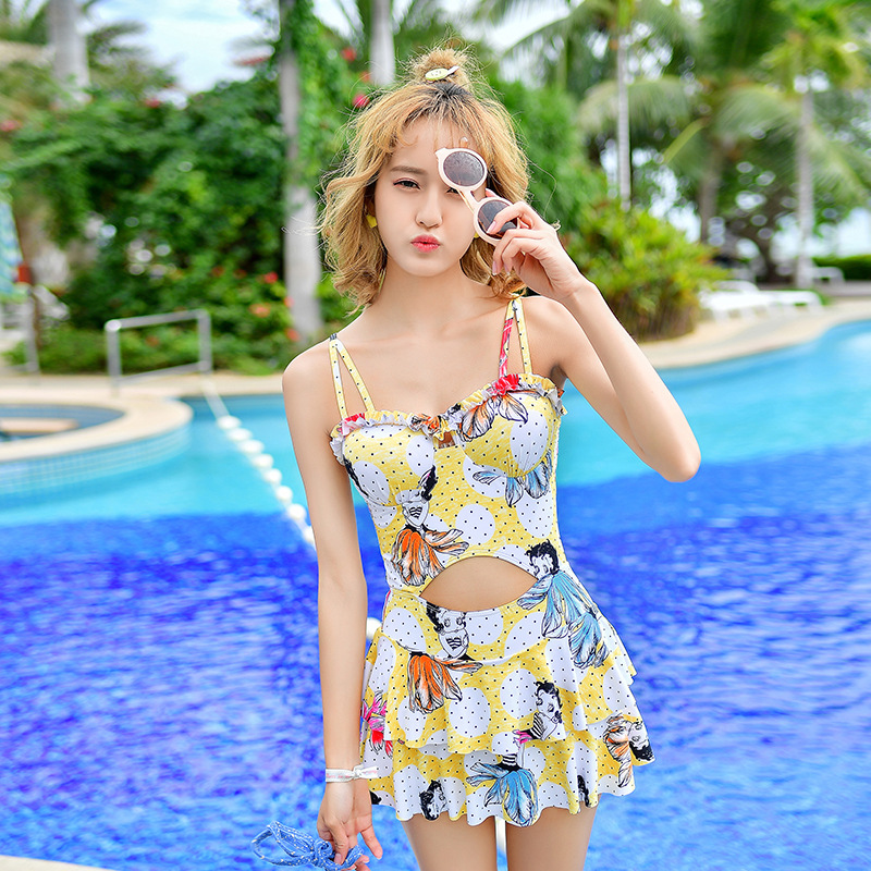 Cheap Sexy Bathing Suits Bikinis Women Woman Large Size Swimsuits One-Piece Swimsuit 2017 High Waist Bodyswim Suit Swim New cheap sexy bathing suits plavky girls bikinis women woman plus size swimwear 2017 17 new korean strapless triangle badpakken