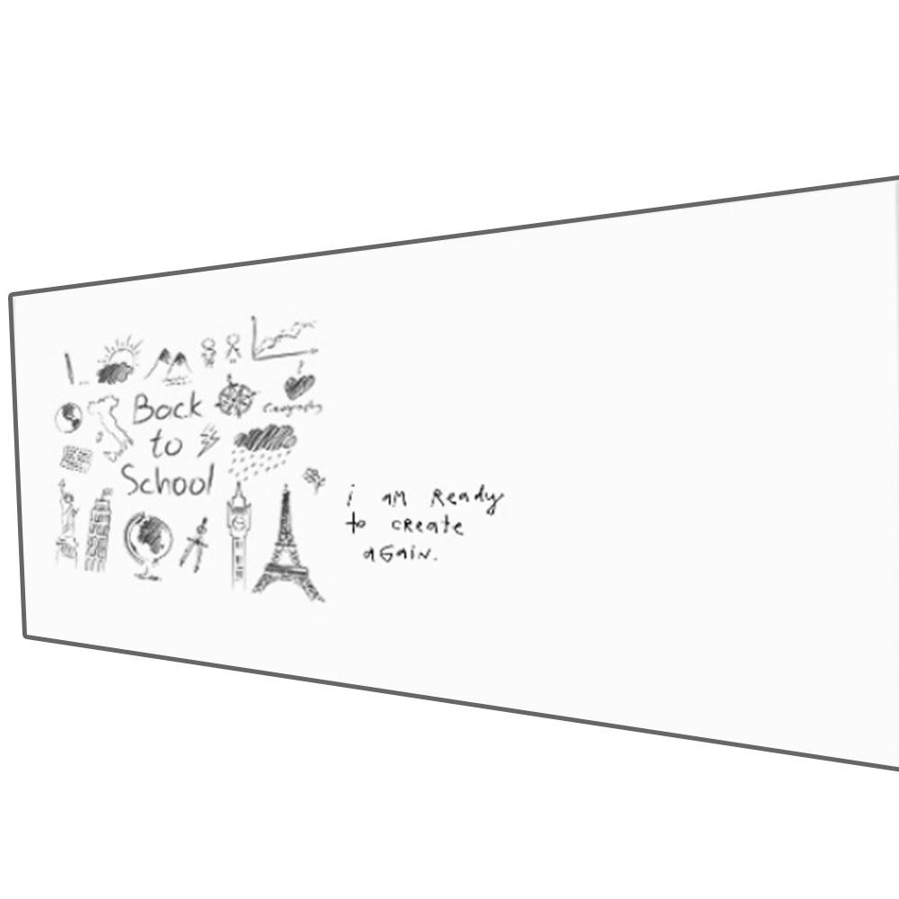 40 * 60CM Magnetic Whiteboard Wall Stickers Ferromagnetic Film Office Home Flexible Whiteboard Useful Kitchen with 6 Nail