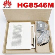 Huawei HG8546M Ftth Gpon Oun Fiber Optic Router Ont fiber equipment English  Vershion with