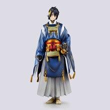 23cm Mikazuki Munechika 애니메이션 액션 피겨 게임 Touken Ranbu 온라인 PVC 모델 1/8 Scale Collectible Kids 러블리 선물 장난감 인형