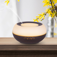 300ML Wood Grain Aroma Diffuser 3 Gears Timing Aromatherapy Essential Oil Diffuser Home Office Spa Yoga Air Humidifier