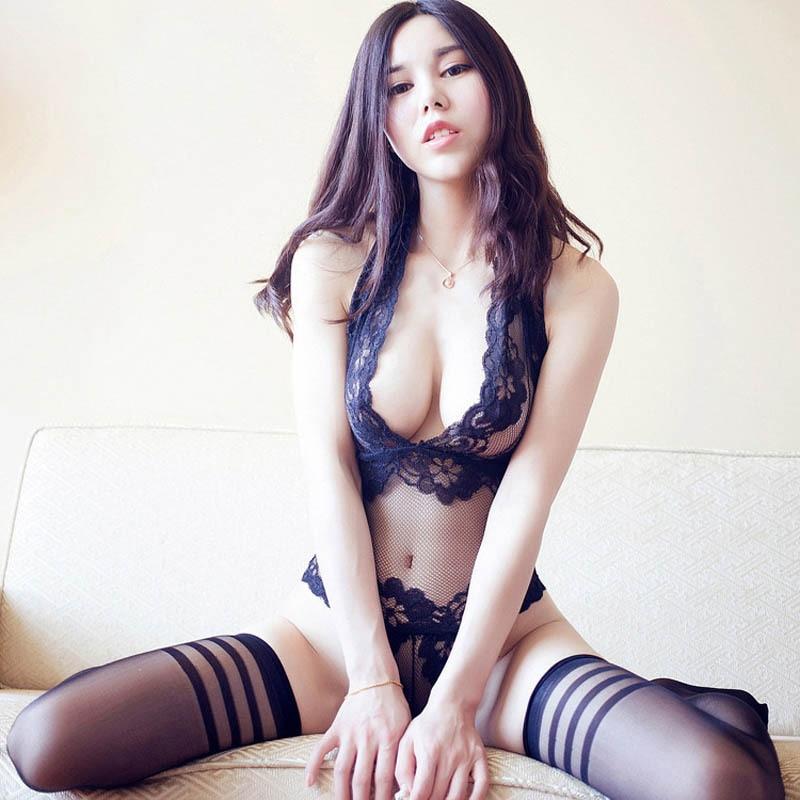 2017 New Valentines Sexy Lingerie Hot Erotic Women Purple
