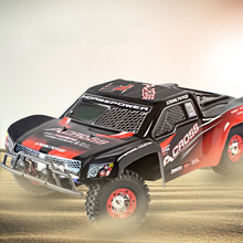 high speed remote control rc racing car truck wl12423 12423 4WD off load Bright LED Light
