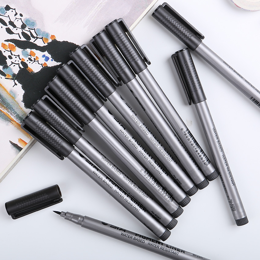 1PC New Original High Quality Soft Calligraphy Brushes Plastic Handle Writing Brush Kids Gift School Painting Teaching Tools