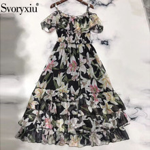 السباغيتي زهرة Svoryxiu طويل