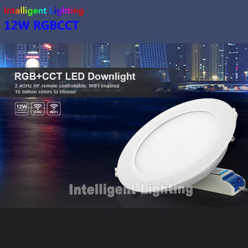 2.4g 1x 6w/12w, 2x 6w/12w, 3x 6w/12w, 4x 6w/12w RGBCCT(RGB+Warm White/White)led downlight+2.4G RF Remote+Milight wifi controller рюкзак thule stir 35l mens dark shadow 3203543