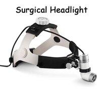 Medical surgical headlights LED dental headlight with high power light bulb head KD 202A 3