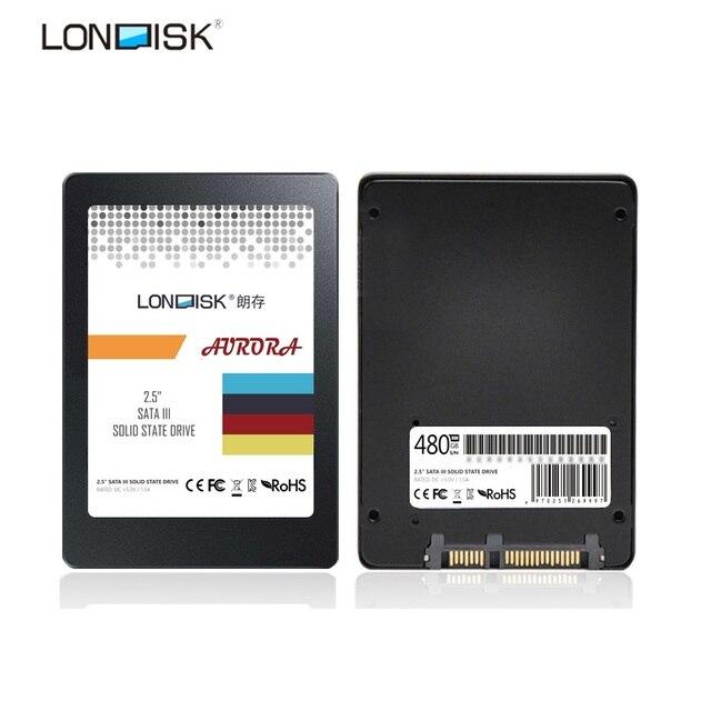LONDISK оригинальные SSD 240 ГБ 480 ГБ SATAIII SATA3 SSD HDD твердотельный жесткий диск 120 ГБ для ноутбука тетрадь