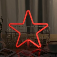LOVE Letters Shape LED Neon Night Light Cloud Moon Star Wall Hanging Neon Light For Festival