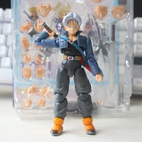 Dragon Ball Z Trunks SHF Action Figures Super Saiyan 14cm Anime Toy DBZ S.H.Figuarts