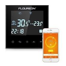 Floureon умный Wi-Fi программируемый цифровой сенсорный экран термостат HY03WE-4-Wifi