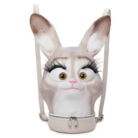 2019 Backpack PU Leather Girl Fashion Shoulder Bag Backpack Rabbit Cartoon Teenager Bunny Popular Style Creative Bag Cute Lovely