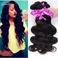 Brazilian virgin hair 3 bundles 7a unprocessed brazilian body wave brazilian hair weave bundles human hair brazilian hair