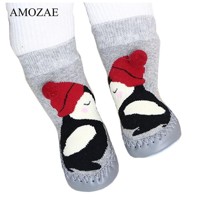 2019 Spring Baby Floor Sock Toddler Indoor Walker Sox Infant Anti-slip Cotton Terry Hosiery Sock For Children Sokken