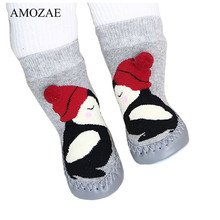 2020 Spring Baby Floor Sock Toddler Indoor Walker Sox Infant Anti-slip Cotton Terry Hosiery Sock for Children Sokken