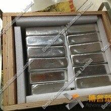 Высокий чистый металл индий, 99.995% чистый, 1000 г индийский слиток Changsha богатый цветных металлов Co., Ltd