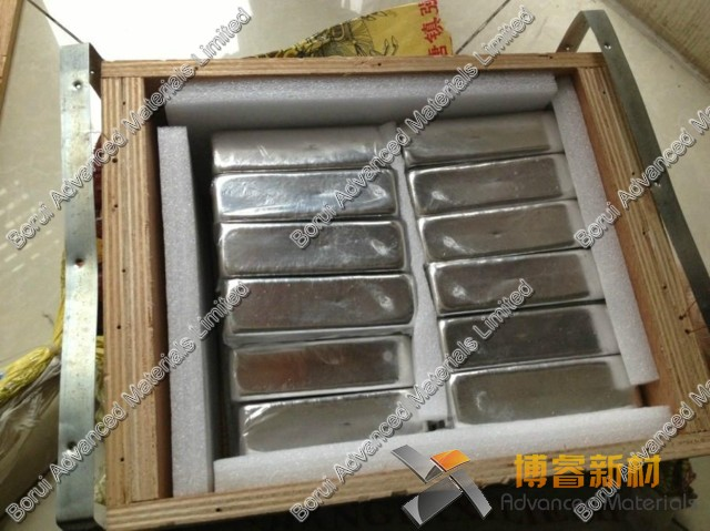 High pure Indium Metal 99 995 pure 1000g Indium ingot by Changsha Rich Nonferrous Metals Co