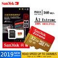 Оригинальная карта памяти SanDisk 64 Гб 128 ГБ 256 ГБ максимальная скорость чтения 160 м/с карта Micro SD класс 10 UHS-I 32 ГБ флэш-карта памяти Microsd