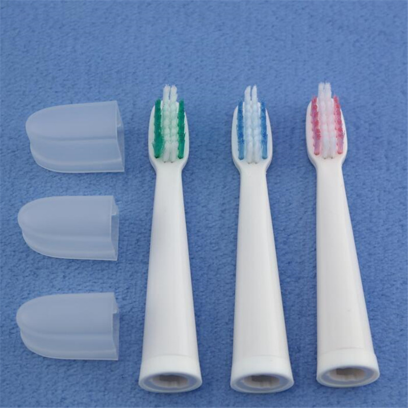 Replacement Toothbrush Heads 3 Pieces Toothbrush Head Fit For LANSUNG U1 A39 A39PLUS A1 SN901 SN902 Extra Heads