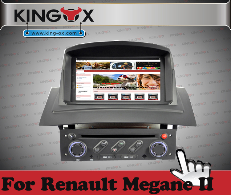 Renault Megane Ii: S100 8inch Renault Megane II DVD GPS Navigation Player For