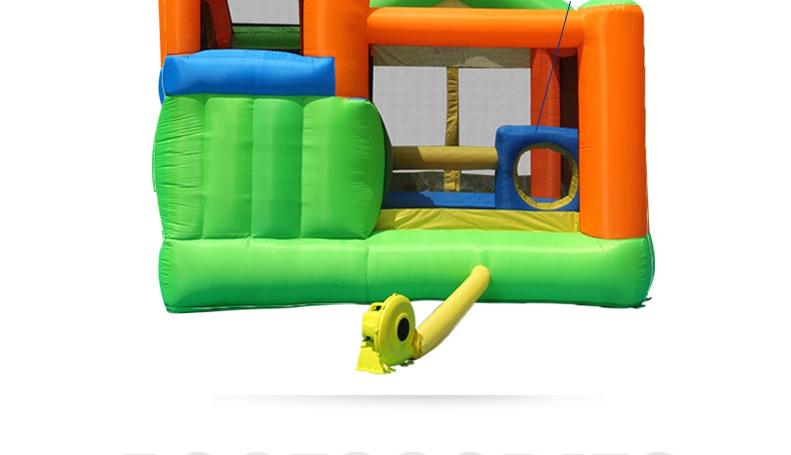 HTB1xCT6PFXXXXXnXXXXq6xXFXXX1 - Mr. Fun Inflatable Trampoline Bounce House with Slide with Blower