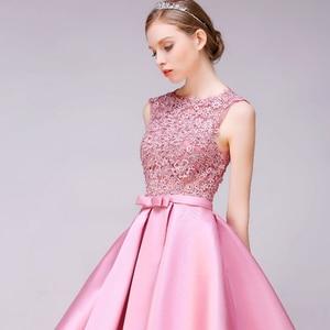 Image 4 - DongCMY Short New Arrival Cocktail Dresses Party Plus Size Women Lace Gown