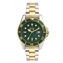 Accurate Classic Men Watch Stainless Steel Luxury Gold Watch Rotary Watch Multifunction Miyota Movement Reloj hombre цена 2017