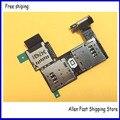 10 pçs/lote original sim cabo flex para moto g2 g 2nd Gen XT1068 XT1069 SIM Card Reader Titular Slot + Lanterna Cabo Flex