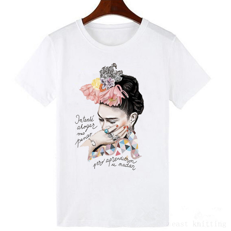 New Female Harajuku Vintage Print Women short sleeves   t     shirt   Summer letter cartoon retro   T  -  shirt