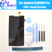 Oukitel K10000 Pro LCD Display Touch Screen 100 Original Tested LCD Digitizer Glass Panel Replacement For
