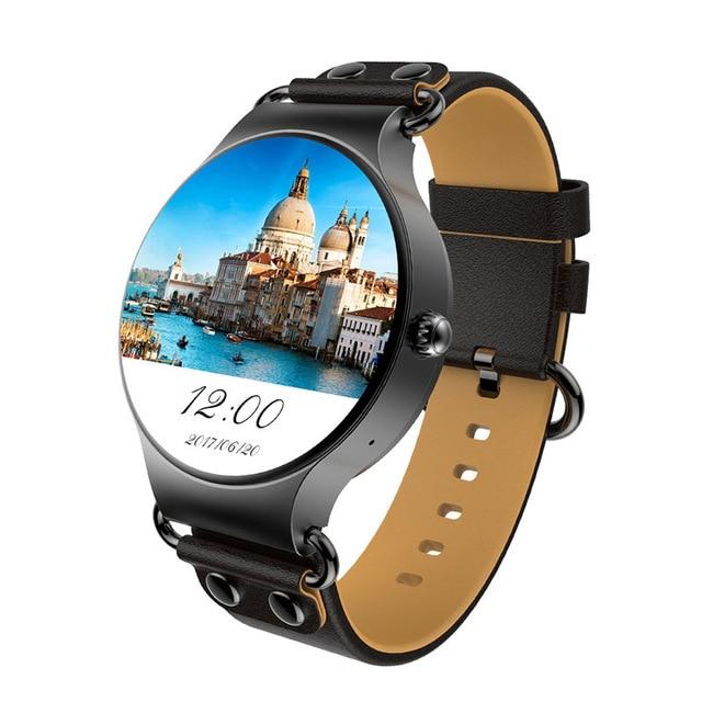 Новые KW98 Смарт часы Android 5,1 3g WI FI gps часы MTK6580 Smartwatch iOS Android для samsung Шестерни S3 Xiaomi PK KW88