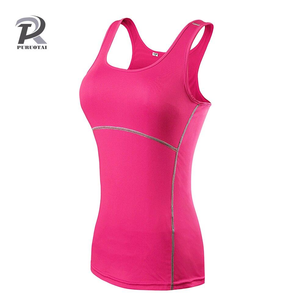 Yoga Tops mujeres Sexy Gym Sportswear Vest Fitness Mujer ropa sin mangas Running secado rápido Yoga blanco
