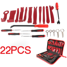 22PCS Auto Car Audio Radio Stereo Release Removal Install Tool Key Installation Repair Hand Tools Kit Screwdriver Pliers Remover