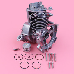 Cárter del Motor cilindro 35mm pistón montaje Kit de perno para Honda GX25 GX25N HHT25S Trimmer cortador de cepillo cortacésped pequeño Motor