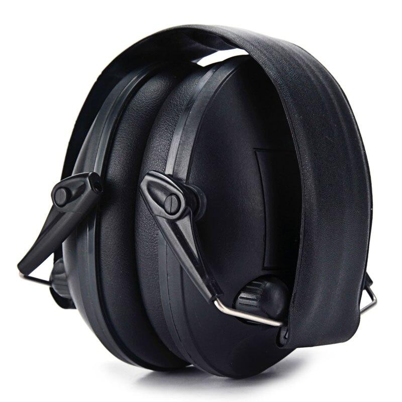 Nouveau casque de réduction du bruit noir derniers protecteurs auditifs tactiques avec micro à double commutateur pour la chasse et le tir