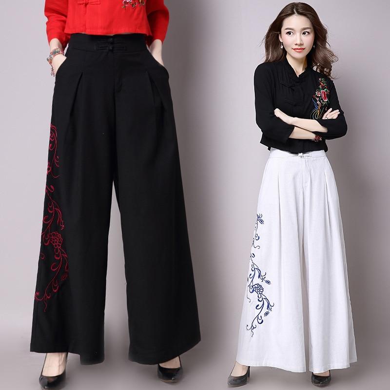 Aliexpress.com : Buy Loose Linen Pants Women Summer 2017 ...