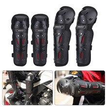 4 шт. защита колен для мотокросса наколенники мотоциклетные спортивные велосипедные защитные наколенники черные
