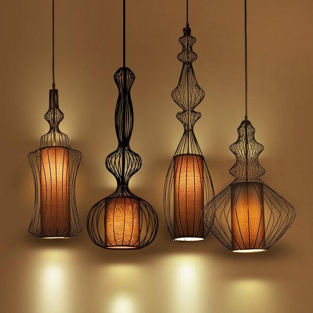ヴィンテージ工業照明ペンダントライトサスペンション照明器具アメリカ錬鉄製のレトロなダイニングルームキッチンペンダントランプ