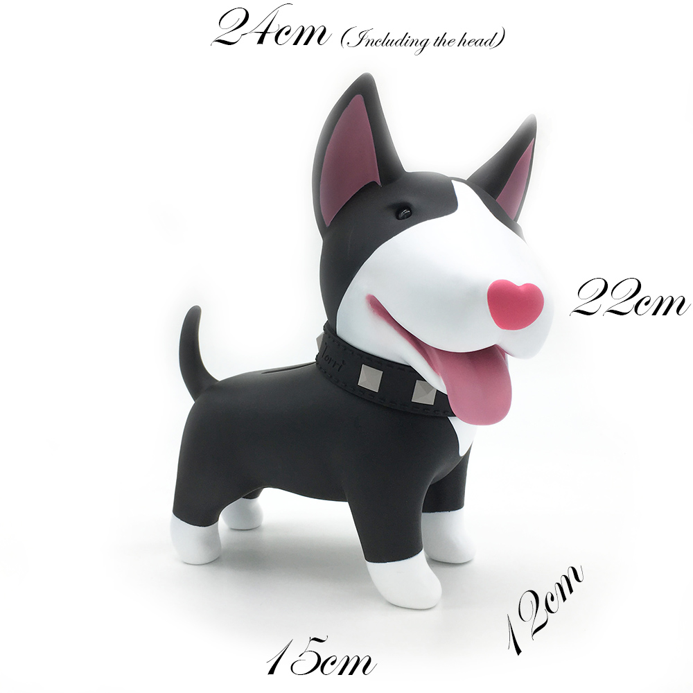 Bulldog Model Creative Sled Dog Pinata Toys Pet Dog Piggy Bank Bull Terrier Akita Dogs S ...