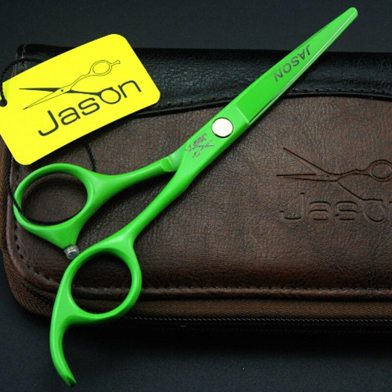 Gërshërë flokësh sallonësh me 4 ngjyra vendosin gërshërë - Kujdesi dhe stilimi i flokëve - Foto 4