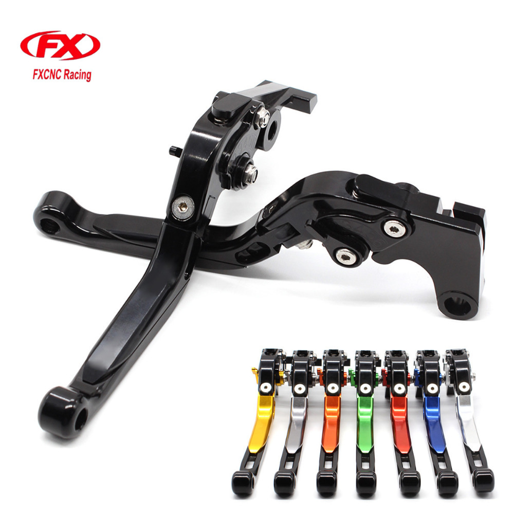 CNC Adjustable Motorcycles Brake Clutch Levers Folding Extendable Lever For Yamaha FZ 09 MT 09 SR FZ 07 MT 07 2014 -2018 2014 cnc billet adjustable long folding brake clutch levers for yamaha fz6 fazer 04 10 fz8 2011 14 2012 2013 mt 07 mt 09 sr fz9 2014
