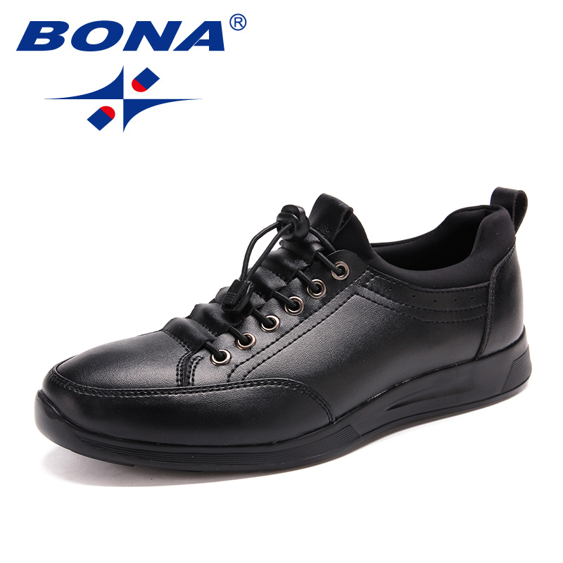 BONA New Classics Style Men Casual Shoes Lace Up Men Loafers Microfiber Men Shoes Comfortable Light Breathable Free Shipping цена 2017