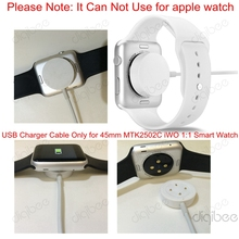 New iWO Smart Watch Charger Cable USB Data Charging Cable for MTK2502C iWO 1 1 Smart