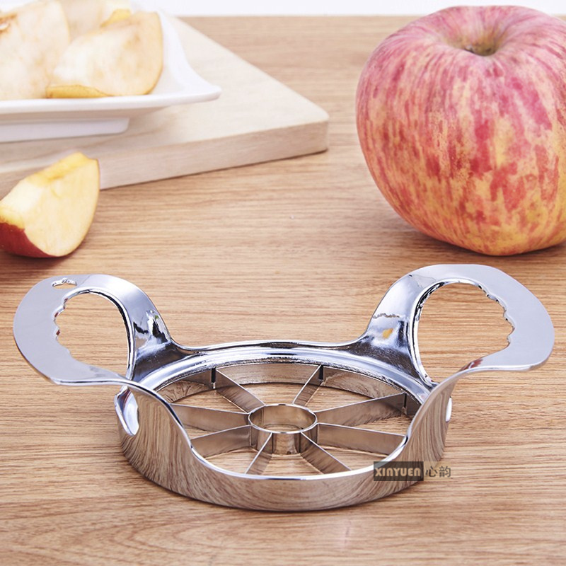 XINYUN Apple Slicer Divider Corer Pear Cutter Fruit Vegetable Tools Easy Cutting Apples Stainless Steel Kitchen Accessories