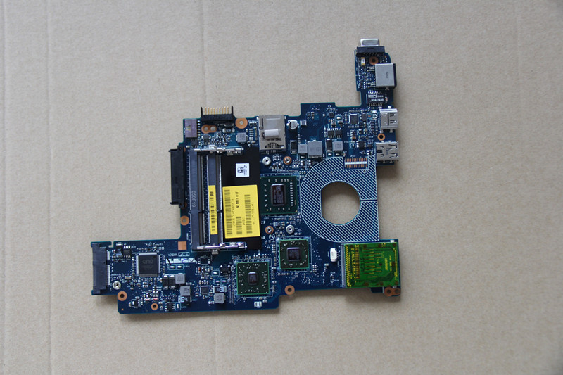 For DELL Inspiron M101Z 1120 Laptop motherboard NLM01 LA-6132P with AMD CPU Onboard DDR3 fully tested work perfect nokotion laptop motherboard for dell inspiron 1120 series main board 0c9ct8 nlm01 la 6132p ddr3