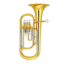 3 Pistons Baritone Brass Body Lacquer With ABS case and mouthpiece Orchestral musical instruments professional