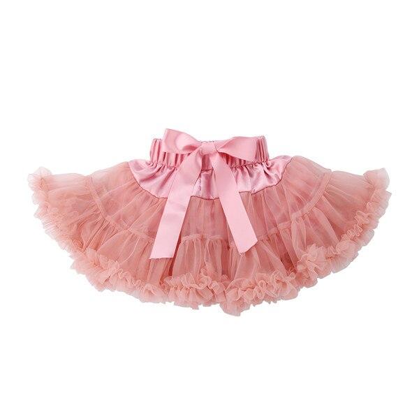 PUDCOCO/Милая юбка-пачка принцессы для маленьких девочек, балетная пышная многослойная юбка-американка из тюля вечерние танцевальные От 0 до 5 лет - Цвет: 7