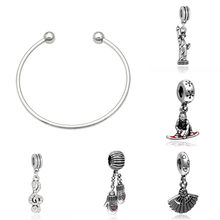 Fit charms plata de ley 925 original bracelet jewelry valentines day harajuku bijoux aretes de mujer modernos beads jewellery(China)