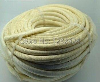 16mm glass fiber casing 600 degrees high temperature insulation casing pipe high temperature wire