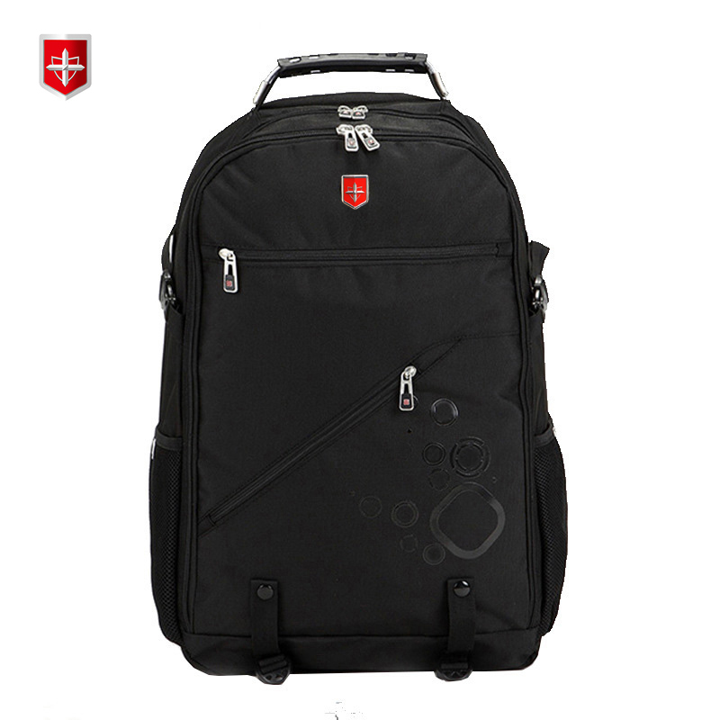 New Swiss Multifunctional Backpack Men Large Capacity Casual Computer Bags Women Travel Backpacks with Waterproof 18inch